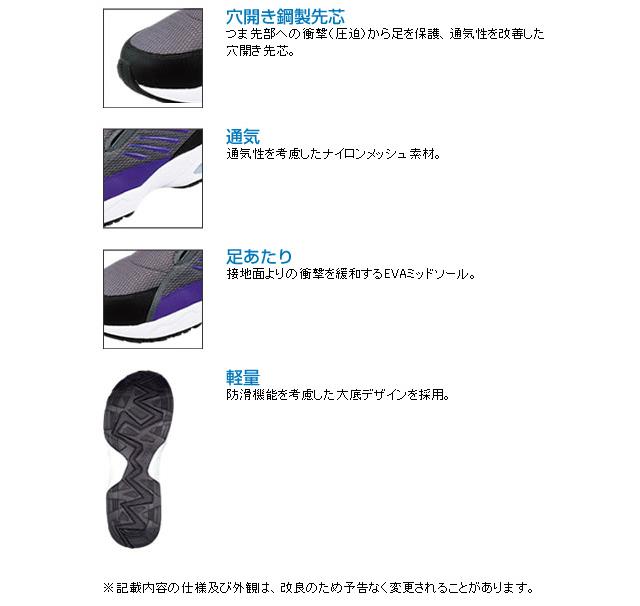 消耗品なごみ 安全靴 マンダムセーフティー#775特徴